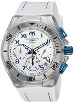 Technomarine Cruise TM-115338 Stainless Steel & Silicone Strap Quartz 46mm Mens Watch