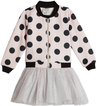 Pippa & Julie x Disney Dot Bomber Jacket & Minnie Tutu Dress Set