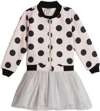 Pippa & Julie x Disney Dot Bomber Jacket & Minnie Tutu Dress Set