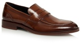 Jeff Banks Tan Patent Leather Loafers