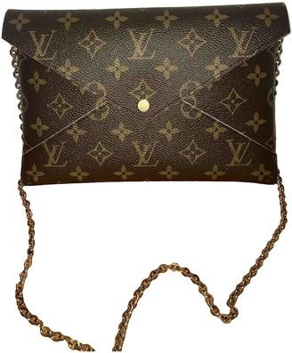 Louis Vuitton Kirigami Brown Cloth Clutch bags