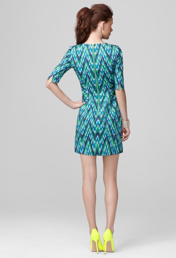 Milly Carina Three Quarter Length Sleeve Dress