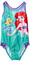 Crazy 8 The Little Mermaid 1-Piece Swimsuit