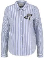 Vero Moda VMBADGE Shirt bright white/blue