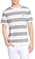 Lacoste Men's Father's Day Striped T-Shirt