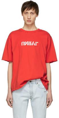 Unravel Red Vintage J Skate T-Shirt