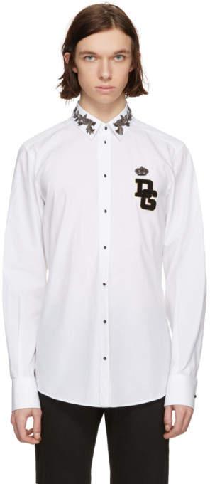 Dolce & Gabbana White Logo Shirt