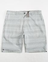 Micros Rick Stripe Mens Hybrid Shorts