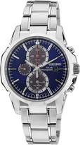Seiko Men's SSC085 Silver Stainless-Steel Quartz Watch