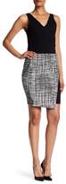 Amanda & Chelsea Sketchy Print Faux Skirt