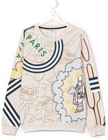 Kenzo cactus print sweatshirt