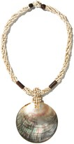 J.Mclaughlin Sidari Shell Beaded Necklace