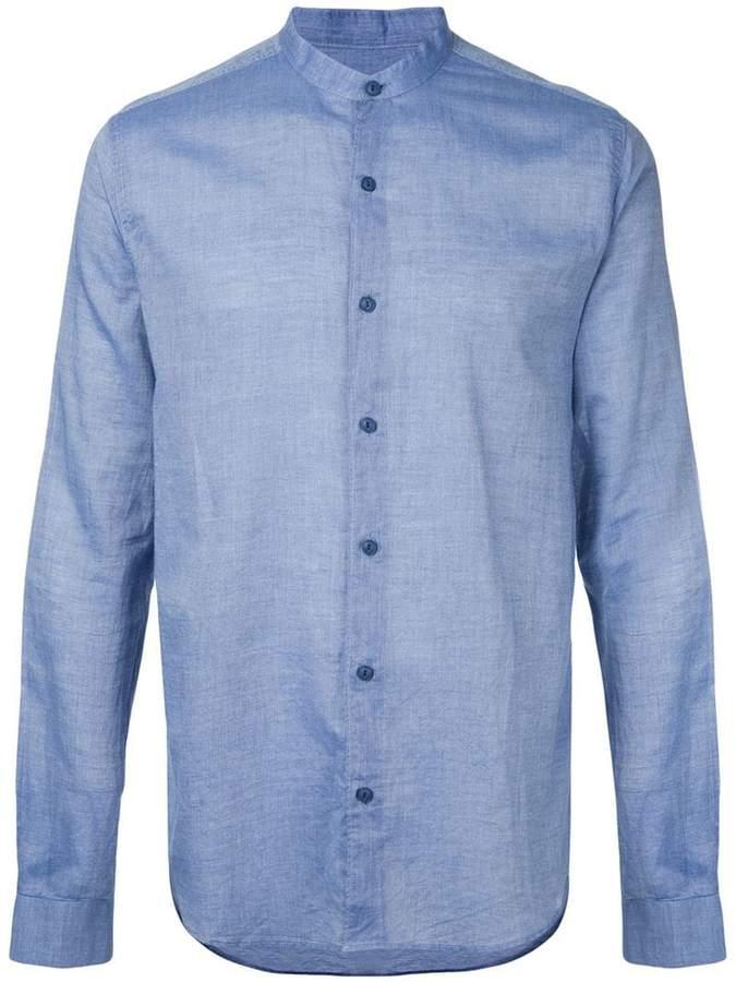 YMC 'Bootboy' chambray shirt