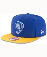 New Era Los Angeles Rams Sideline Classic 9FIFTY Snapback Cap