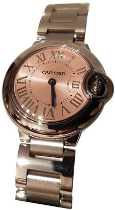 Cartier Ballon bleu Pink Steel Watches