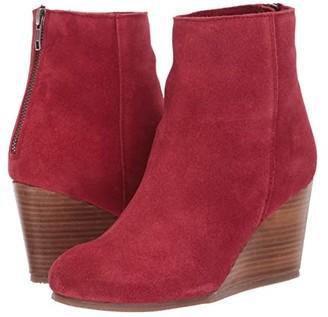 Diba True Now Wow (Dark Red) Women's Shoes