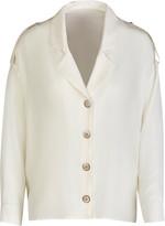 Giuliva Heritage Collection The Sara Shirt Silk Crepe De Chine Top