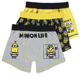 George Despicable Me 3 Minions 3 Pack Trunks
