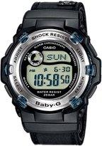 Casio Women's Baby-G BG3002V-1 Cloth Quartz Watch