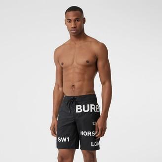 Burberry Horseferry Print Swim Shorts
