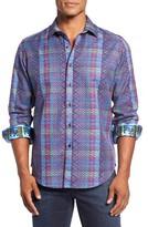 Robert Graham Men's Classic Fit Albert Finney Jacquard Sport Shirt