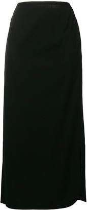 Yohji Yamamoto Pre-Owned mid-length pencil skirt