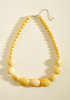 Bright and Baubly Necklace in Mustard