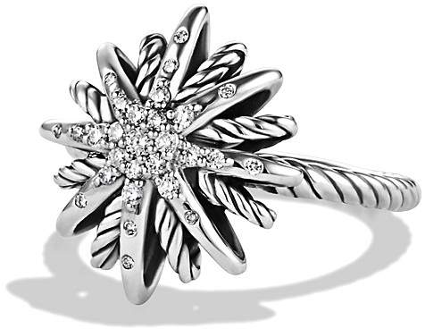 David Yurman Starbust Ring with Diamonds