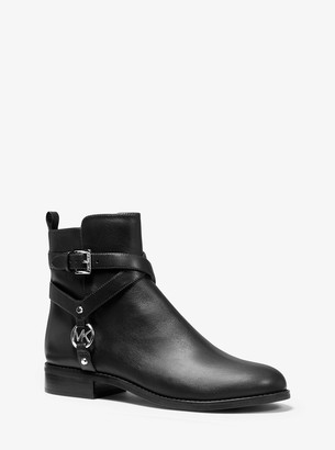 MICHAEL Michael Kors Preston Leather Ankle Boot