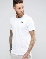 The North Face T-Shirt With Chest Logo In White