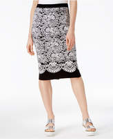 Rachel Roy Jacquard Sweater Skirt, Created for Macy's
