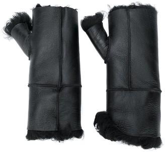 Yves Salomon Fingerless Gloves