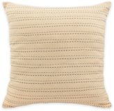 Vue Cersei Embroidered Square Throw Pillow in Ivory