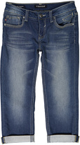 Vigoss Medium Wash Crop Jeans