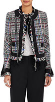 Sacai Women's Tweed Lace-Trimmed Jacket