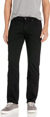 Paige Men's Tall Size Normandie Extra Long Slim Straight Fit in Black Shadow 28