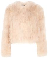 Alexander McQueen Feather Jacket - Blush