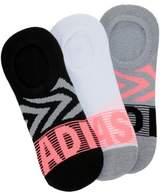 adidas Women's 3 Pack adiGraphic Super No Show Socks