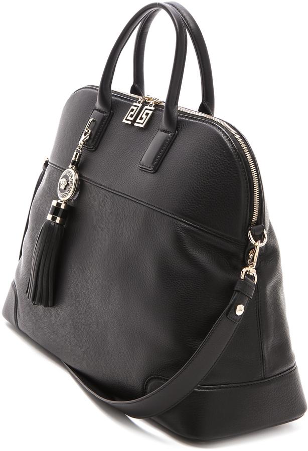 Versace Black Satchel