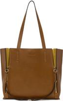 Chloé Brown Medium Milo Tote Bag