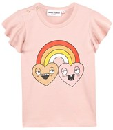 Mini Rodini Pink Rainbow Winged Tee