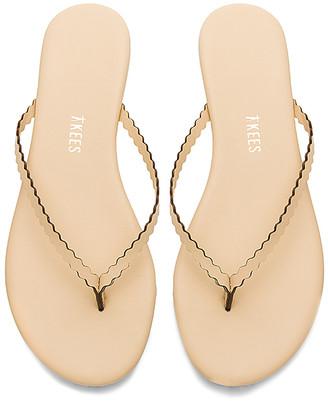 TKEES Studio Scalloped Sandal