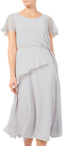 Jacques Vert Soft Tie Side Dress, Light Grey
