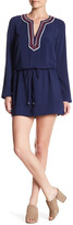 Laundry by Shelli Segal Embroidered Tunic Dress