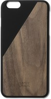 Native Union Black Clic Wooden Iphone6+ Case Walnut