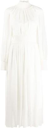 Zimmermann dot embroidered midi dress