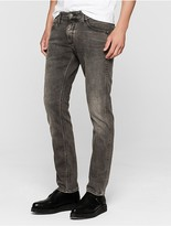 Calvin Klein Sculpted Smog Grey Slim Jeans