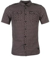 Firetrap Blackseal Patriot Check Shirt