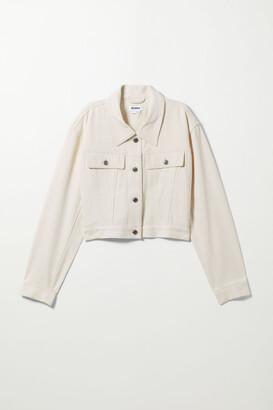 Weekday Jupiter Linen Jacket - White