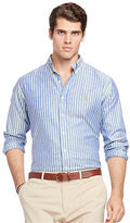 Big & Tall Polo Ralph Lauren Striped Stretch Oxford Shirt